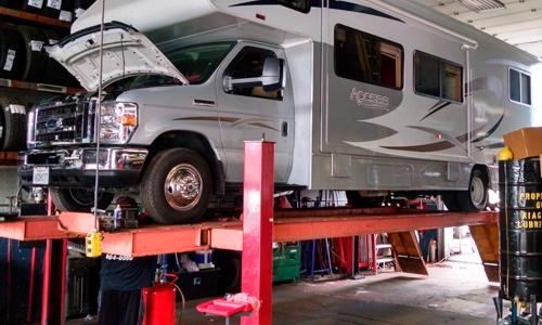 Safe RV Storage